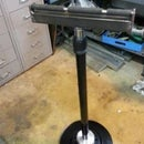 DIY - Adjustable Roller Stand From Scrap