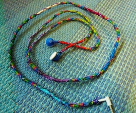 How To Make Earbuds Colorful Using Thread
