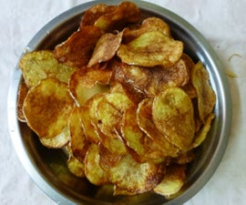 Make Crispy Potato Chips at Home