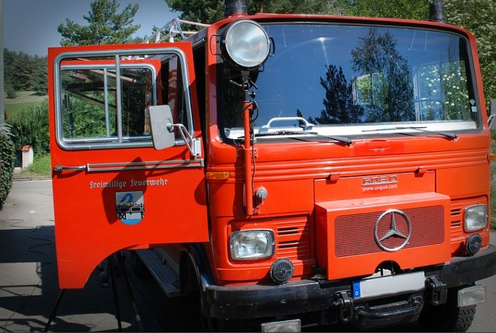 Picture of Firetruck Camping Car