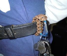 Paracord Belt Clip