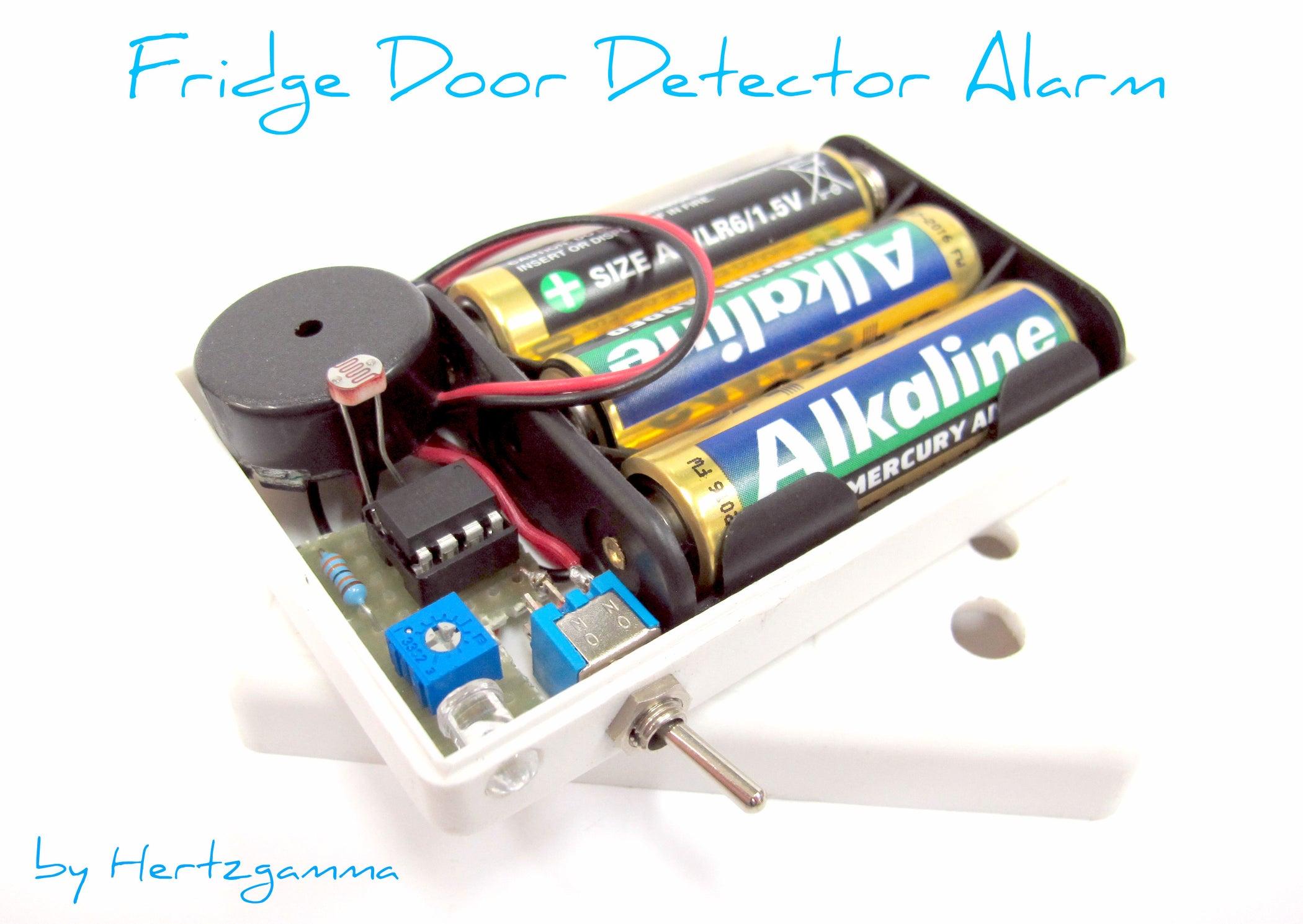 Fridge Door Detector Alarm 13 Steps With Pictures Simple Circuit