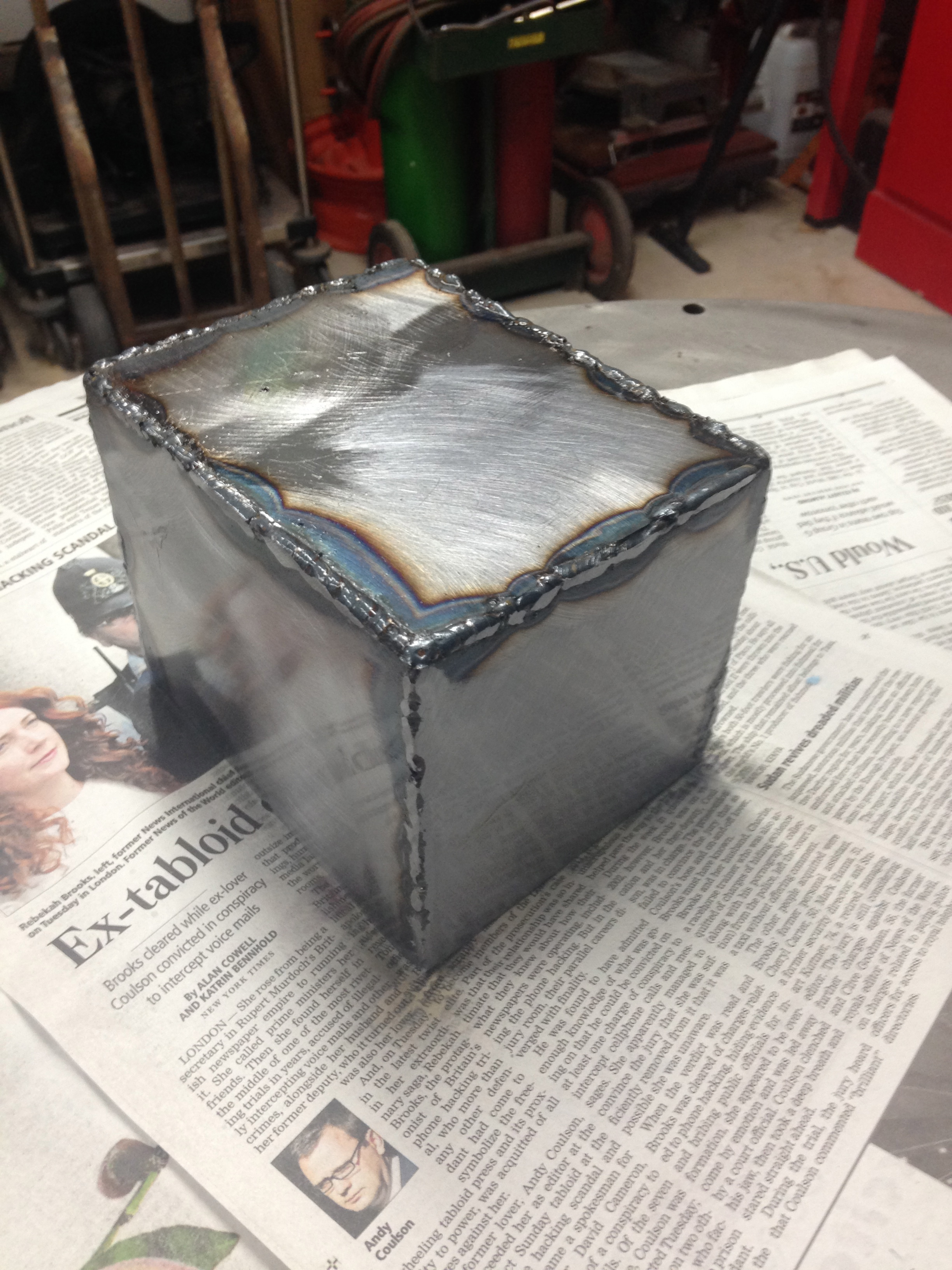 Picture of How to MIG Weld a Box
