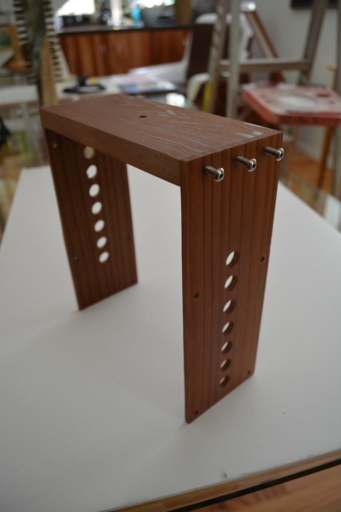 Picture of Making the Top Cross Pieces and Assemblies