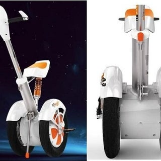 Self-balancing Raleigh Chopper Inspired Electric Scooter