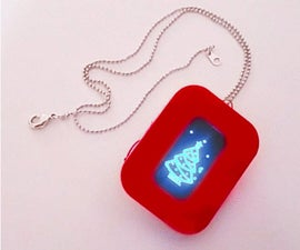 DIY Smart Necklace for Valentine Gift by Arduino & OLED Display