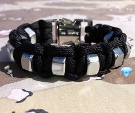 Turn Hardware (Hex Nuts) into Jewelry