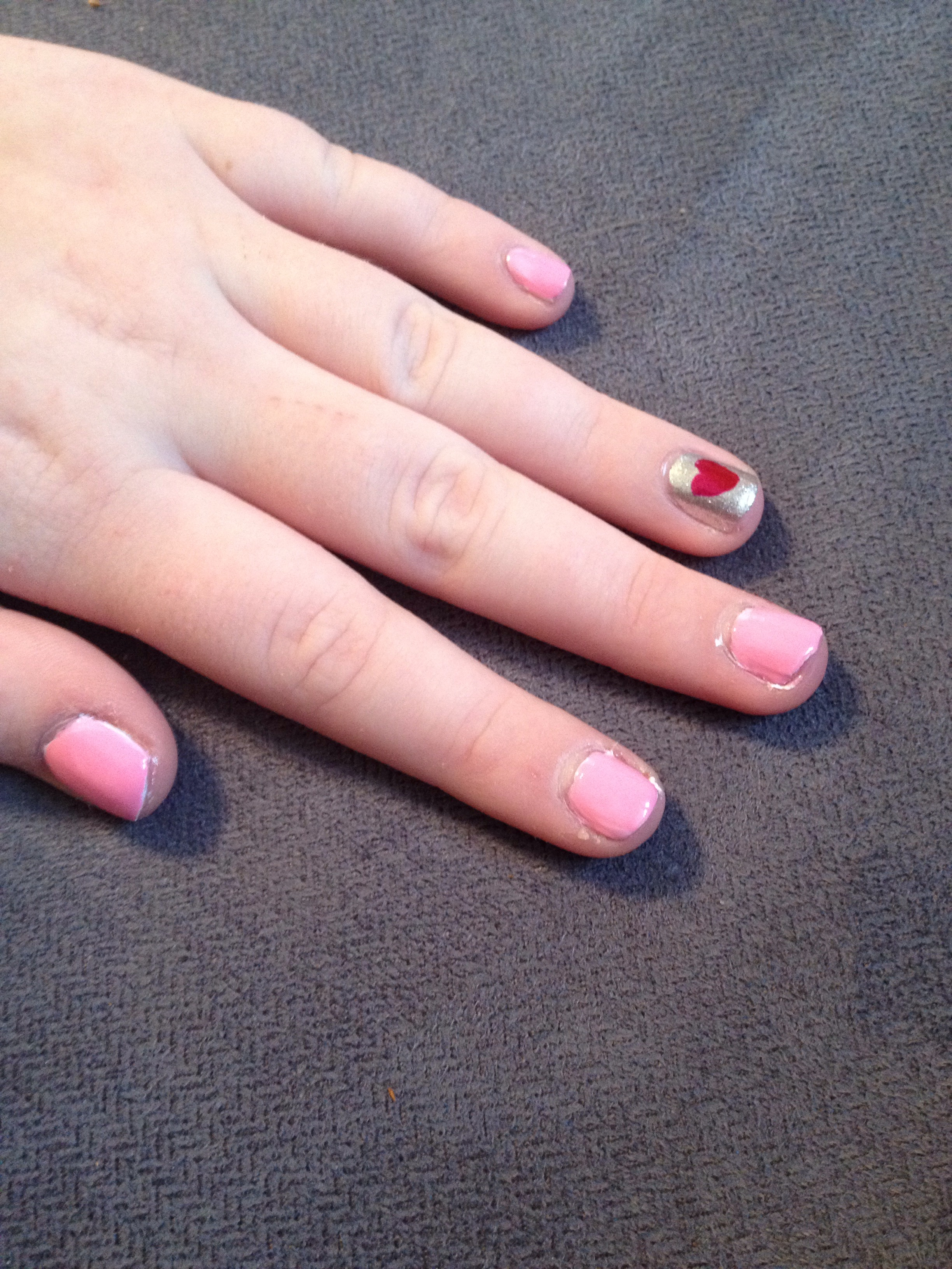 Picture of How to Paint a Cute Nail Design