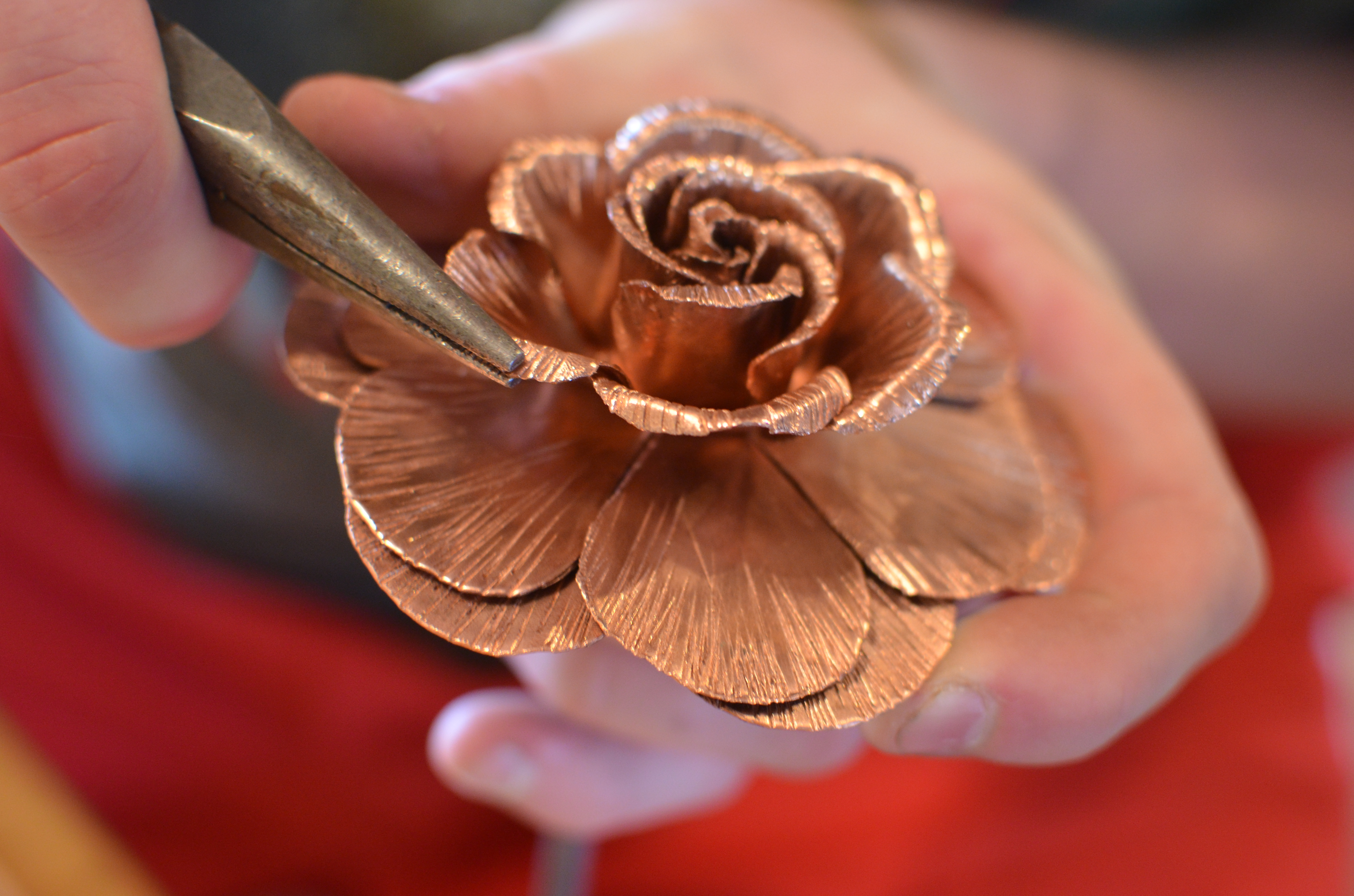Picture of Bend Up Last 3 Layers of Petals