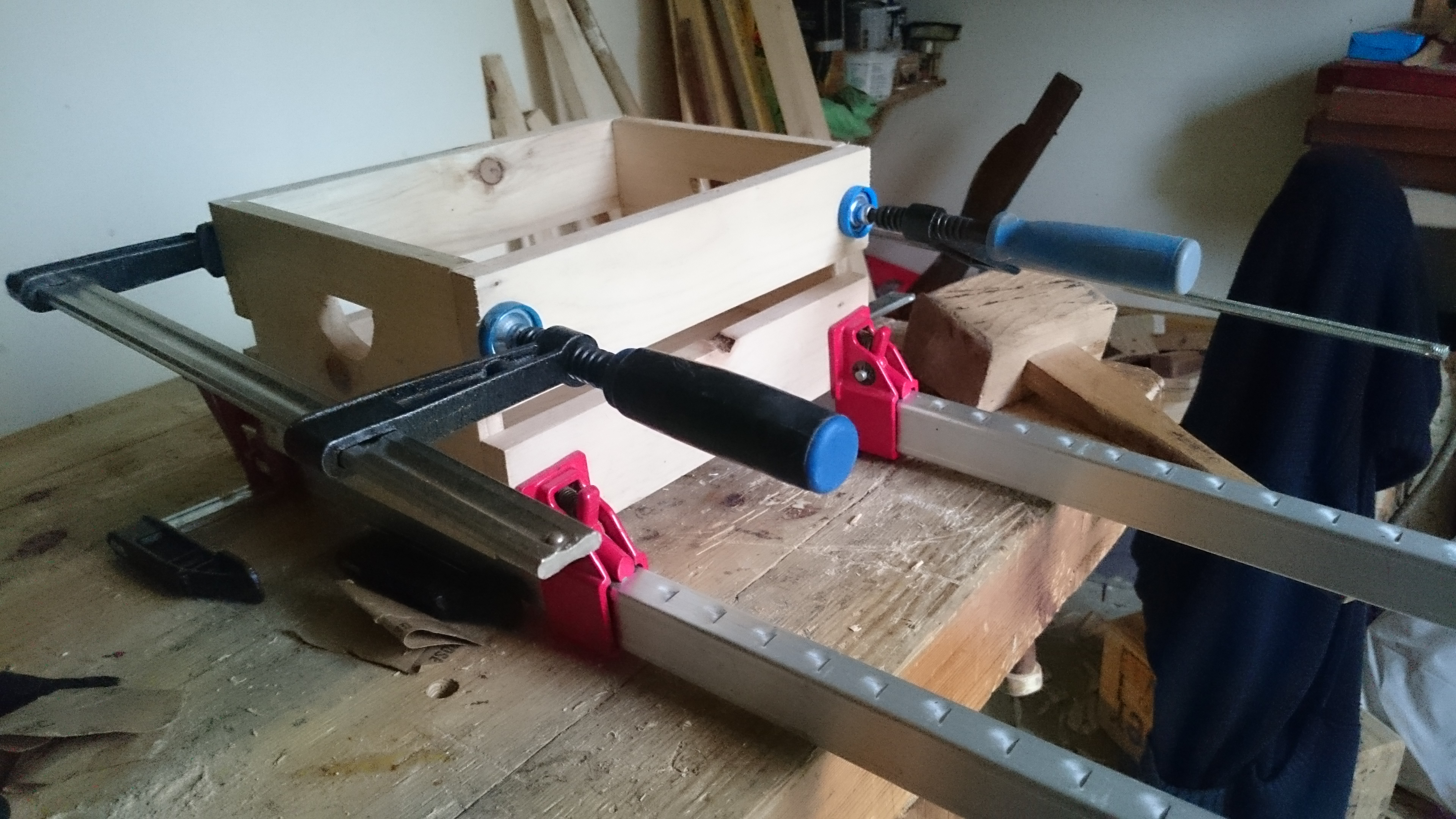 Picture of First Glue Up