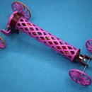 Lightweight Rubber Band Powered Car