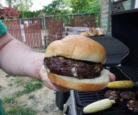The Blue Mountain Elk Burger