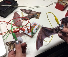 Makey Bat-Mobile! (Or other flying animal educational mobile)