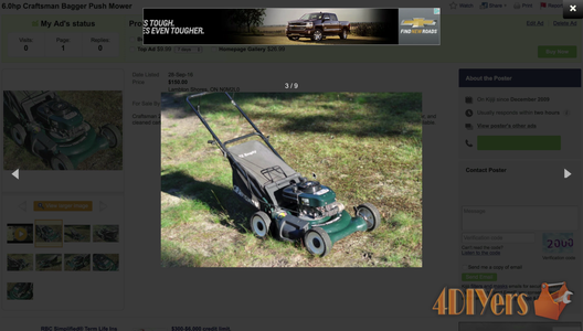 How to Sell a Lawnmower