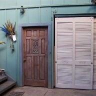 Double Rustic Barn Doors (From Framing Lumber)
