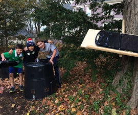 Solar Powered Composter