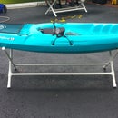 Make a simple, inexpensive Kayak Stand in under 15 minutes