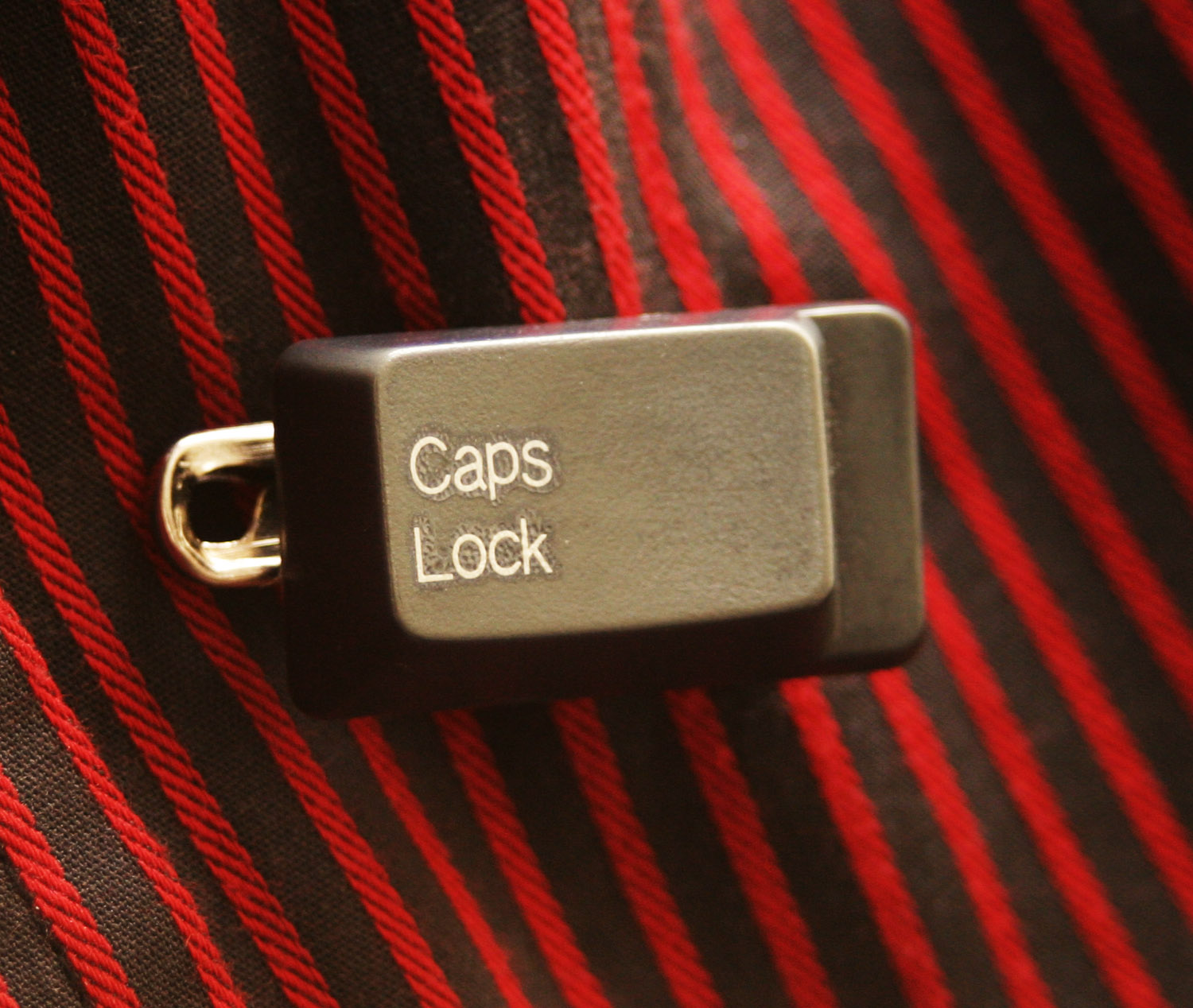 Picture of Live Life Louder With a CAPS LOCK BADGE