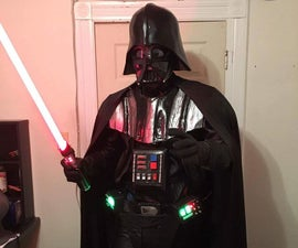 Darth Vader Costume With Voice Changer and Sound Effects
