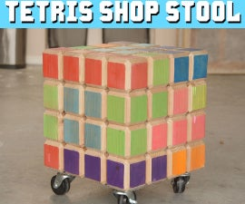 DIY Tetris Shop Stool