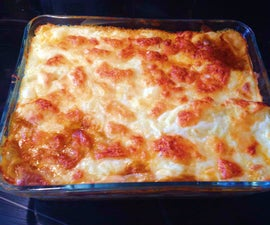 Family Size Lasagne
