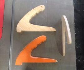 How to CNC Route Woodshop Push Sticks