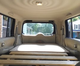 Car Camper Bed