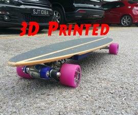 3D Printed electric Longboard V2