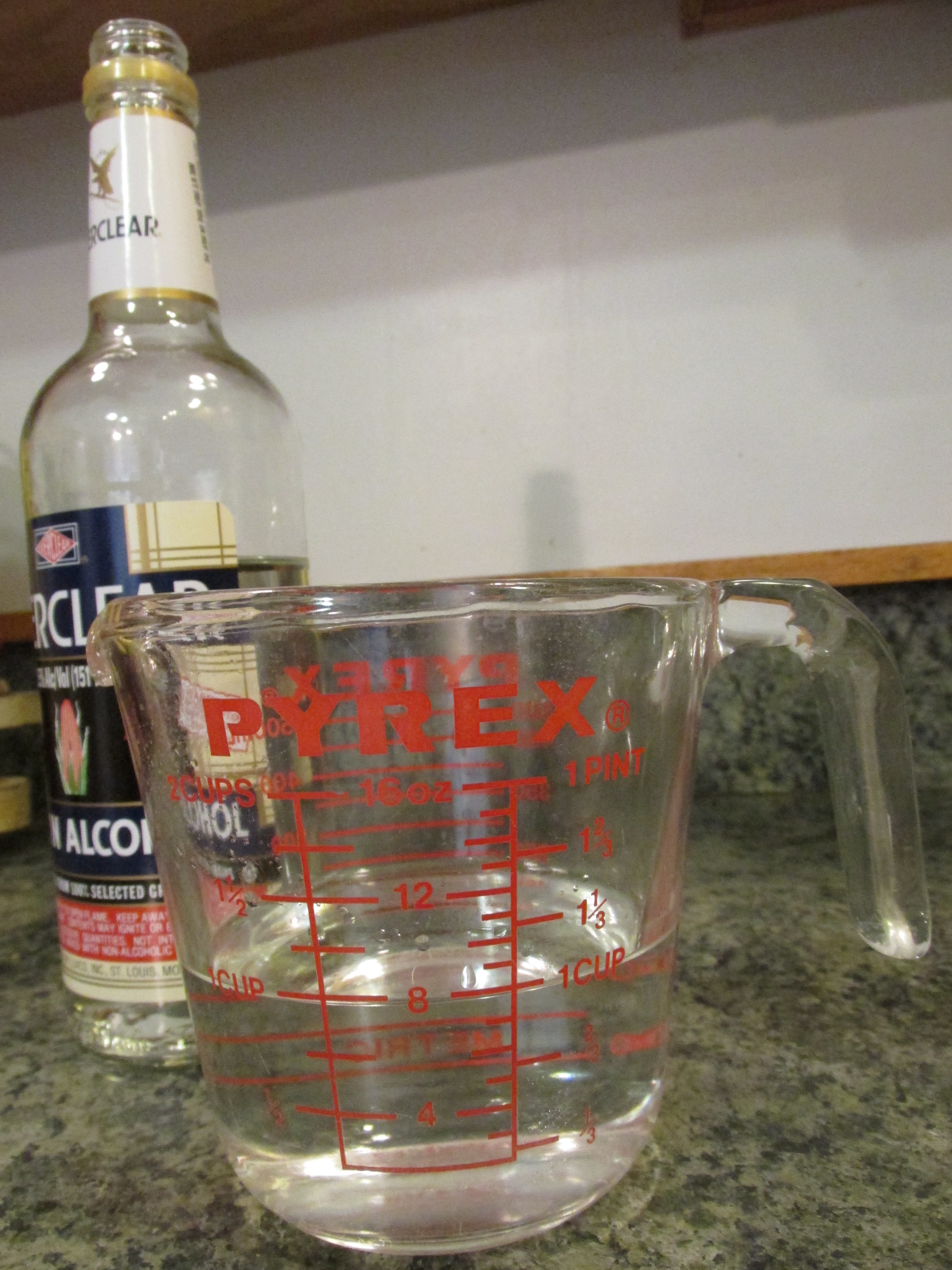 Picture of Adding the Alcohol