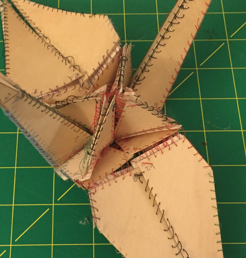 Picture of How to [fold] a Wooden Origami Crane