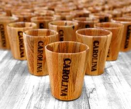 Pallet Wood Shot Glasses (100 of Them!)