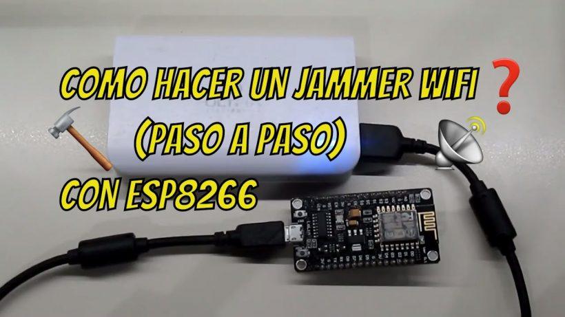 Picture of Como Hacer Un Jammer Wifi Con Esp8266