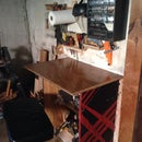 Wood Shop Hutch