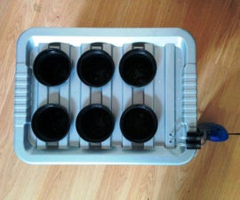 Deep Water Culture Hydroponics System - No power tools required!