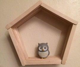 DIY Pentagon Shelf