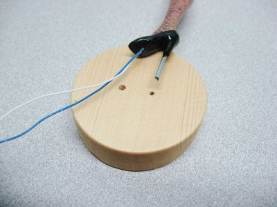 Mount Leg to Base, Add Lighting Components