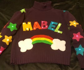 Mabel Pines Light-Up Sweater