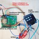 ESP32 - Temperature/humidity Sensor (Si7021) and OLED