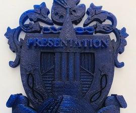 3D PRESENTATION Academy NAHS Club Crest