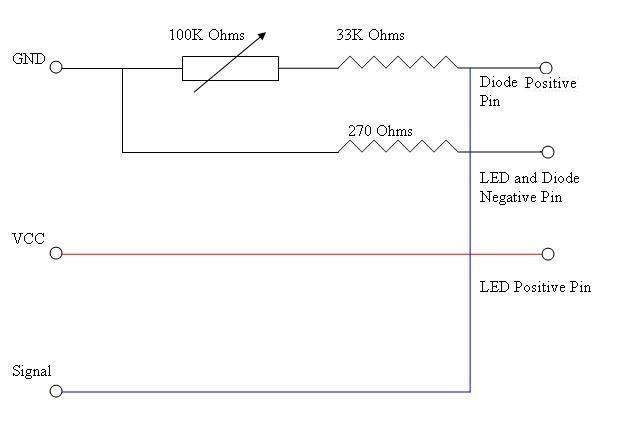 Picture of Sensor Circuit