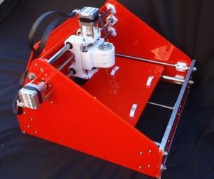 3D Printed CNC Mill