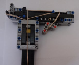 Lego and Rubber Band Pistol