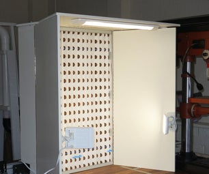Benchtop Spray Booth