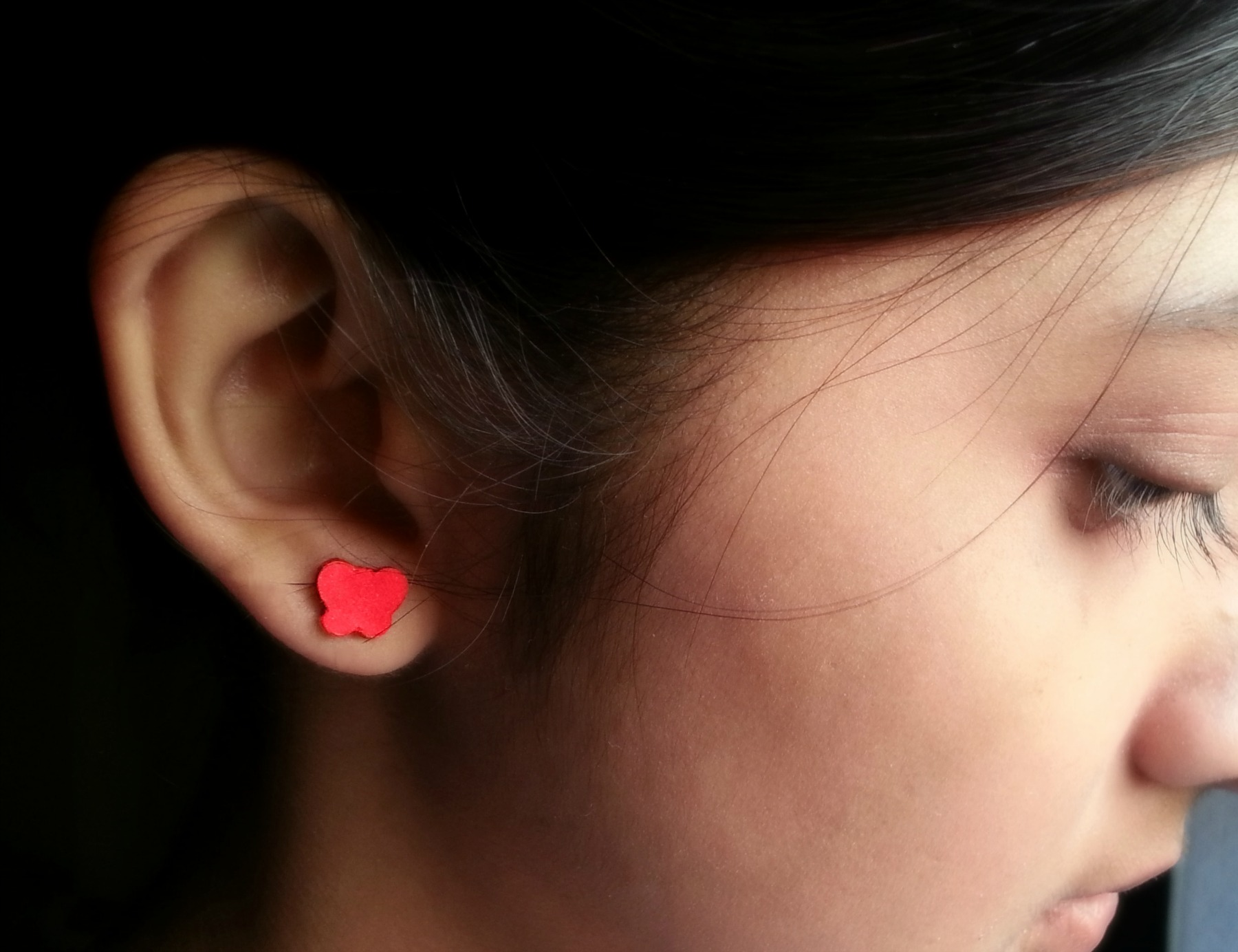Picture of Tiny Butterfly Ear Tops