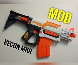 Nerf Modulus Recon MKII Modification Guide