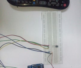 control LEDSs using any infrared (TV) remote control