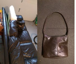 Leather sofa to handbag
