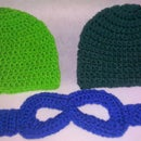 Crochet Mask and beanie