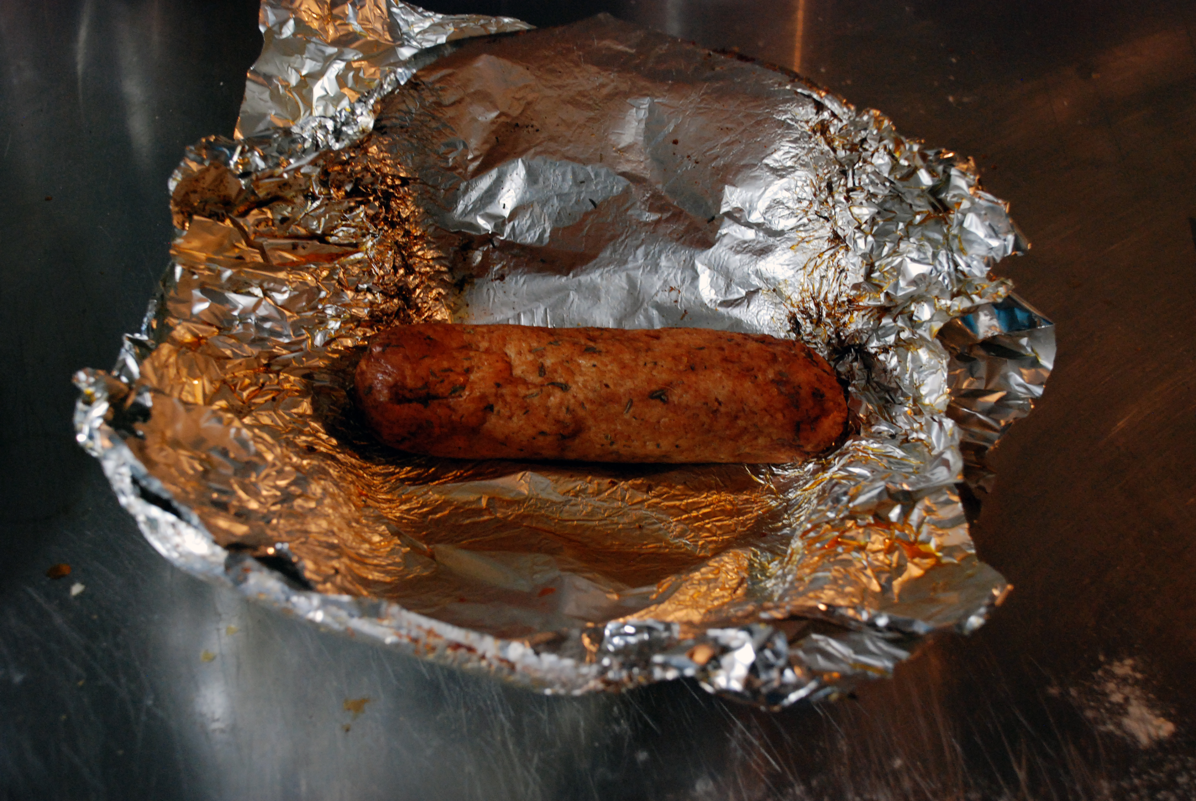 Picture of VEGAN BBQ SAUSAGE EASY AND CHEAP