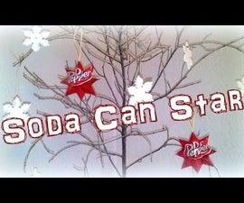 Soda Can Stars - Tutorial